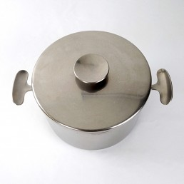 Mid-Century Modern Set of 5 Pots and Pans Designed by Dick Simonis for Gero