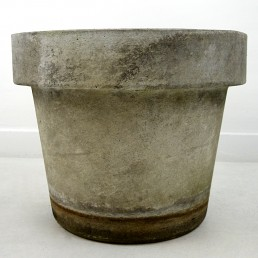 Mid-Century Modern Planter in the Shape of Flower Pot by Willy Guhl for Eternit
