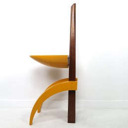 Unique Postmodern Wooden Plant Stand or Pedestal