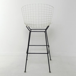 Mid-Century Modern Set of 4 Wire Stools by Harry Bertoia for Knoll International