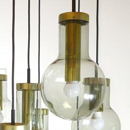 "Mid-Century Modern Chandelier or Pendant ""Cascade Maxi-Globe"" by RAAK Amsterdam"
