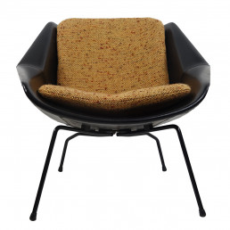 Mid-Century Modern Chair FM08 with Loose Cushions by Cees Braakman for Pastoe