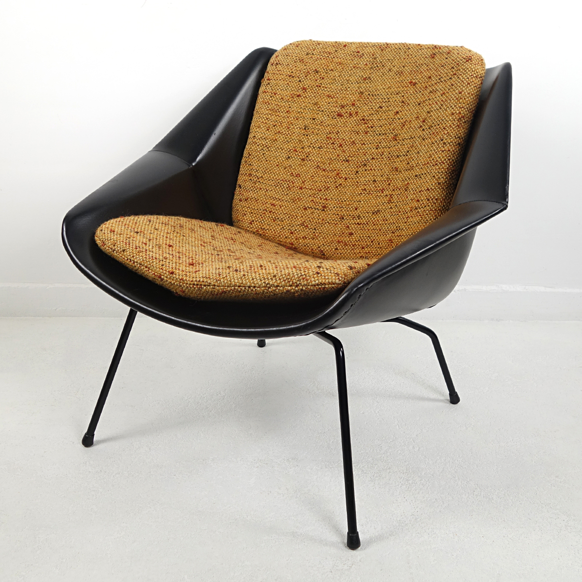Mid Century Modern Chair Fm08 With Loose Cushions By Cees Braakman For Pastoe Doctor Decorum