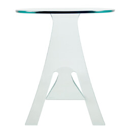 Postmodern Coffee Table Grillo Designed by Vittorio Livi for Fiam Italia