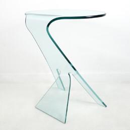 Postmodern Coffee Table Grillo Designed by Vittorio Livi for Fiam Italia