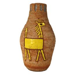 Mid-Century Modern Ceramic Vase by Italian Maker Fratelli Fanciullacci
