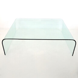 Postmodern XL Wide Waterfall Cocktail Table by Angelo Cortesi for Fiam Italia