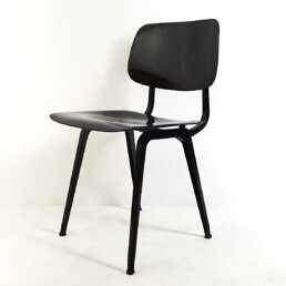 """Set of 4 Mid-Century Modern Chairs """"Revolt"""" by Friso Kramer for Ahrend"""