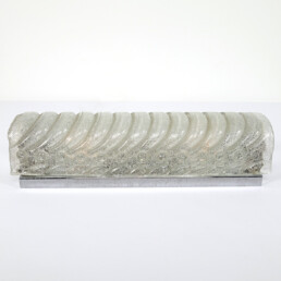 Hollywood Regency Ice Glass Sconce or Flush Mount by Kalmar