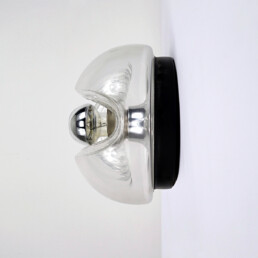 Hollywood Regency Glass Sconce or Flushmount by Peill & Putzler