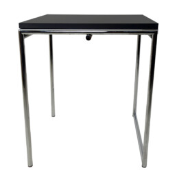 Modernist Chrome Framed Fold-Out Table