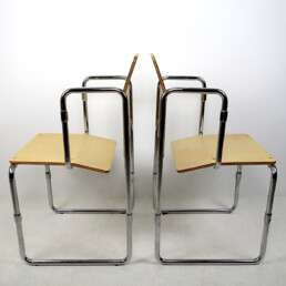 Modernist Hopmi Chair by Gerrit Rietveld Limited Edition Official Reproduction