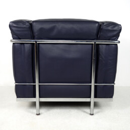Modernist LC2 Easy Chair by Le Corbusier and Charlotte Perriand for Cassina