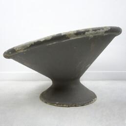 Mid-Century Modern Round Planter by Willy Guhl for Eternit in Switzerland